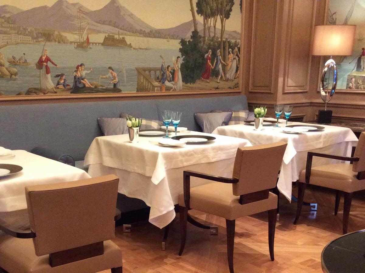Participação na alteração do 'Restaurant IL Lago' no Hotel des Bergues – Geneve
